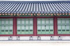 Detail van erfenispagode bij Gyeongbokgung-Paleis royalty-vrije stock foto's
