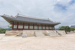 Detail van erfenispagode, park bij Gyeongbokgung-Paleis Royalty-vrije Stock Foto