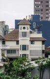 Detail van flat in Bangkok, Thailand stock afbeeldingen