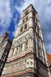 Detail van Florence toren stock fotografie