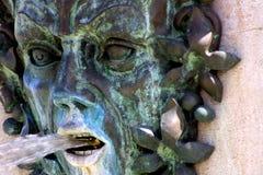 Detail van fontein Stock Afbeeldingen