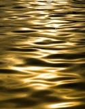 Gouden Golven Royalty-vrije Stock Afbeeldingen