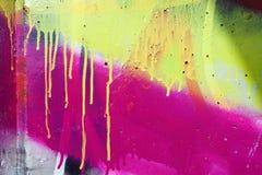 Detail van Graffiti Royalty-vrije Stock Foto