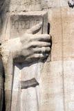 Detail van hervormingsmuur Stock Fotografie