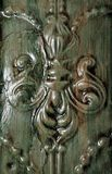 Detail van het Antieke Plafond van het Tin Stock Afbeelding