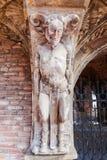 Detail van het duivelshuis in Arnhem, Nederland Royalty-vrije Stock Afbeelding