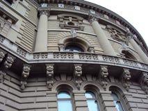 Detail van het historische paleis in het centrum van Bern royalty-vrije stock afbeeldingen