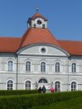 Detail van het kasteel van 'Nymphenburg ' M?nchen, Duitsland royalty-vrije stock foto's