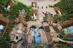 Detail van het Museum Dali in Figueres Royalty-vrije Stock Fotografie
