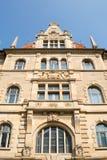 Detail van het Nieuwe Stadhuis in Hanover, Duitsland Stock Fotografie
