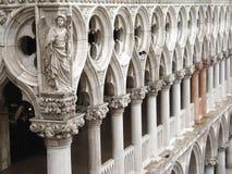 Detail van het paleis van de Doge royalty-vrije stock foto