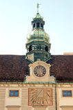 Detail van het Paleis van het Koninklijke Hof van Wenen in Oostenrijk Royalty-vrije Stock Afbeeldingen