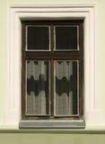Detail van historisch venster Royalty-vrije Stock Foto