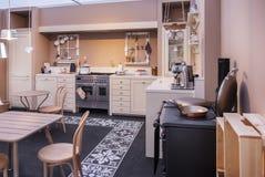 Detail van huiskeuken Royalty-vrije Stock Foto's