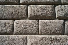 Detail van Inca Stone Wall stock foto's