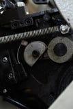 Detail van industriële machines met smering royalty-vrije stock afbeeldingen
