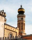 Detail van Joodse synagoge in Boedapest wordt geschoten dat royalty-vrije stock foto's