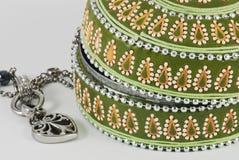 Detail van juwelendoos royalty-vrije stock afbeelding