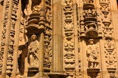 Detail van Kathedraal. Santiago DE Compostela Stock Afbeelding