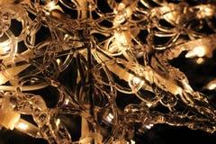 Detail van Kerstmislichten Royalty-vrije Stock Fotografie