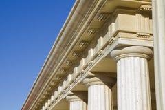 Detail van klassieke kolommen Royalty-vrije Stock Afbeelding