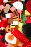 Detail van kleurrijke snoepjesachtergrond Royalty-vrije Stock Afbeelding