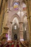 Detail van kluis van Kathedraal van Onze Dame van Gunst en Heilige Juli stock foto