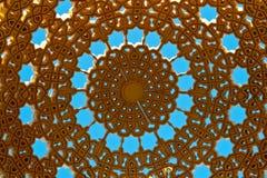Detail van koepel op muttrah corniche Royalty-vrije Stock Fotografie
