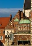 Detail van Krakau Wawel Royalty-vrije Stock Afbeeldingen