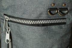 Detail van luxe crossbody zak Royalty-vrije Stock Afbeelding