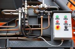 Detail van machines stock foto