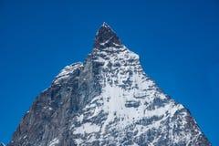 Detail van Matterhorn, Zermatt, Zwitserland Royalty-vrije Stock Foto