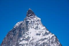 Detail van Matterhorn, Zermatt, Zwitserland Stock Fotografie