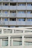 Detail van moderne architectur fromv Wenen Stock Fotografie