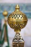 Detail van Moskee Hassan II in Casablanca, Marokko Stock Afbeelding