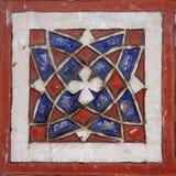 Detail van moskee in Marrakech royalty-vrije stock afbeelding