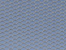 Detail van netto van trampoline Stock Afbeelding