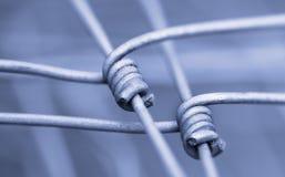 Detail van omheining als symbool van vaste verbinding en samenhang Royalty-vrije Stock Fotografie