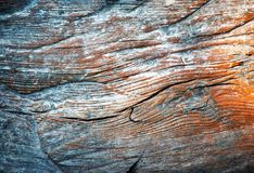 Detail van oud doorstaan hout royalty-vrije stock afbeelding