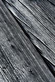 Detail van oud hout met longitudinale groeven royalty-vrije stock foto