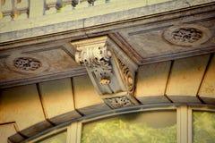 Detail van oude architectuur Stock Foto's