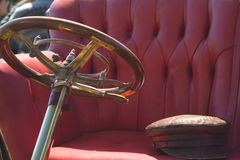 Detail van oude auto Stock Foto's