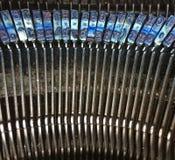 Detail van Oude Schrijfmachine Stock Foto