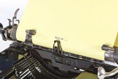 Detail van Oude Schrijfmachine Royalty-vrije Stock Afbeeldingen