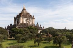 Detail van oude tempels in Bagan, Myanmar (Birma stock foto's