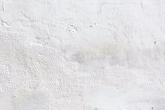 Detail van patronen en texturen van oude witte steenmuur royalty-vrije stock foto's