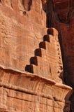 Detail van petra-Jordanië royalty-vrije stock foto's