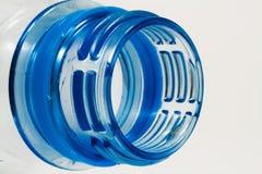 Detail van plastic fles Royalty-vrije Stock Afbeeldingen
