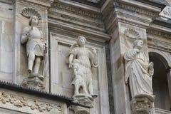 Detail van Renaissancevoorgevel stock foto