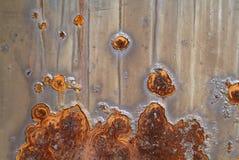 Detail van roest stock foto